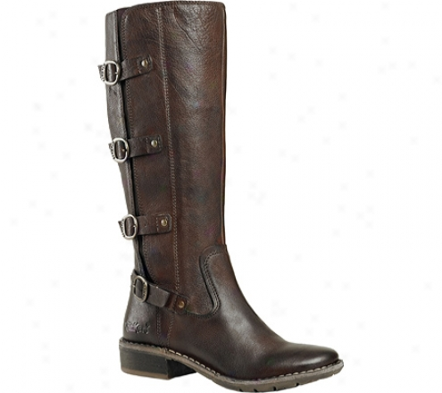 Kickers Groovy (women's) - Brown Leather