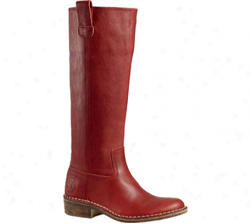 Kickers Seventg2 (women's) - Red Leather