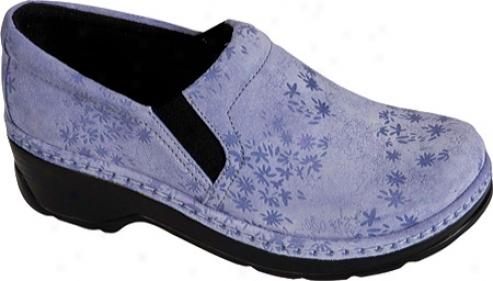 Klogs Naplrs (women's) - Lavender Print Leather