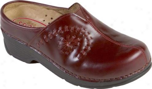 Klogs Portofino (women's - Cranberry Smooth Leather