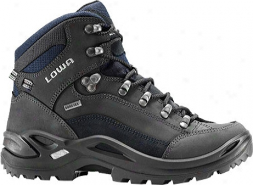 Lowa Renegade Iii Gtx Mid (women's) - Dark Grey/navy