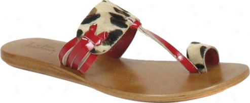 Luichiny Saw See (women's) - Leopard/red Pony Hair/leather