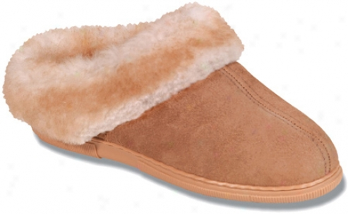 Minnetonka Sheepskin Mule (women's) - Tan