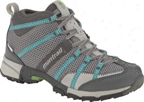 Montrail Mountain Masochist Middle Outdry (women's) - Stainless/reef