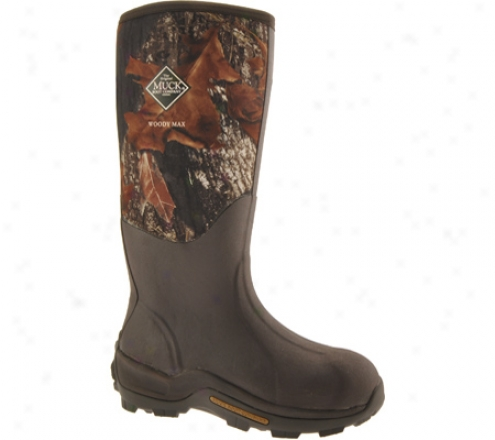 Muck Boots Woody Max Cold-conditions Hunting Boot Wdm-mobu - New Mossy Oak Break-up®
