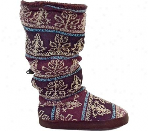 Muk Luks Vintage Toggle Boot (women's) - Moody Rose