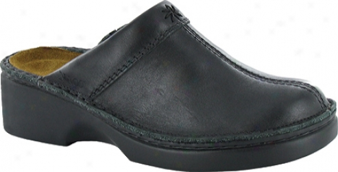 Naot Darma (women's) - Black Matte Leather