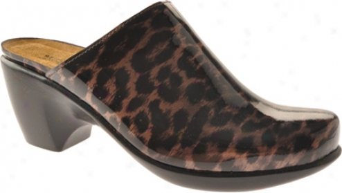 Naot Dream (women's) - Cheetah Patent Leather
