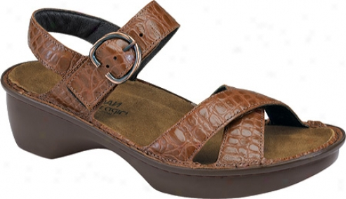 Naot Istanbul (women's) - Western Croc Leather