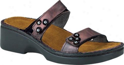 Naot Norfolk (women's) - Smoke Leather/espresso Leather