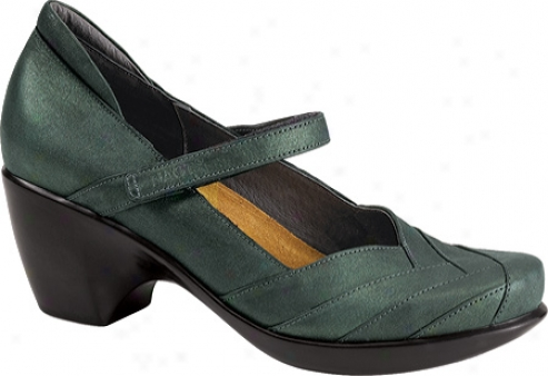 Naot Select (women's) - Green Shimmer Leather
