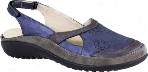 Naot Tamariki (women's) - Soft Violet Leather/mulberry Leather/smoke Leather