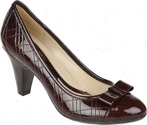 Naturalizer Brazen (women's) - Dark Brown Marbled Shiny