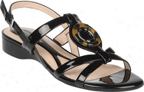 Naturalizer Lanie (women's) - Black Shiny Gleam Patent Pu