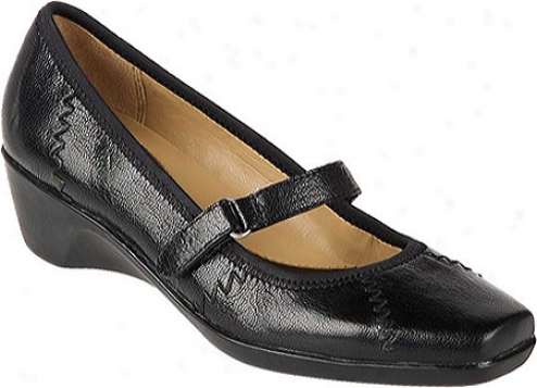 Naturalizer Lola (women's) - Black Fritmo Leather