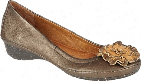 Naya Rustica (women's) - Moda Bronze Metallic/bingo Tan Leather