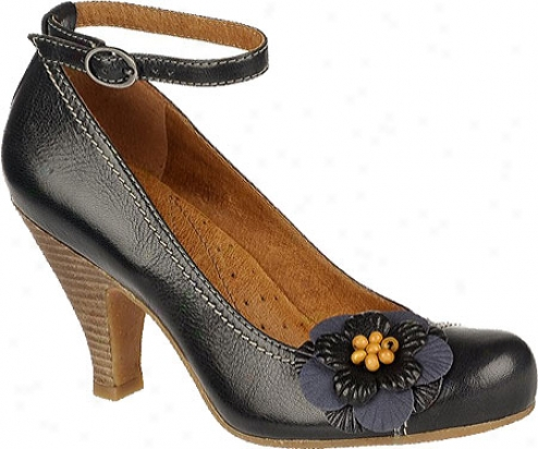 Naya Valeska (women's) - Inky Navy Giglio Leather/amaalfi Leather