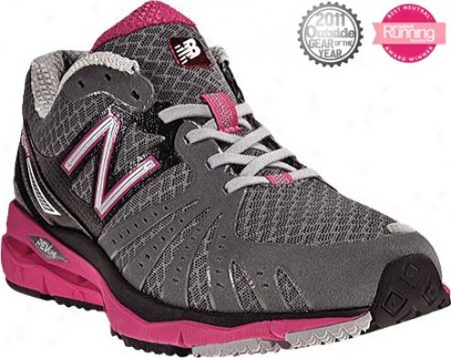 New Balance Wr890 (women's) - Grey/pink