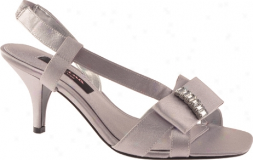 Nina Darita (women's) - Royal Silver Royal Satin