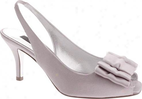 Nina Laraine (women's) - Silver Royal Satin