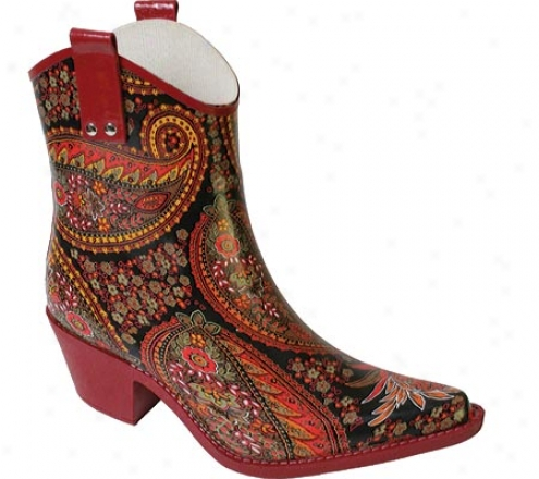 Nomad Yippy Low (women's) - Red Pasiley