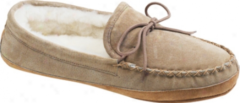 Old Friend Soft Sole Loafer Moc (women's) - Chesrnut/white