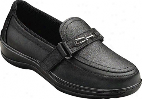 Orthofeet 817 (women's) - Black Leather