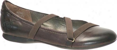 Otbt Park City (women's) - Dark Brown Leather