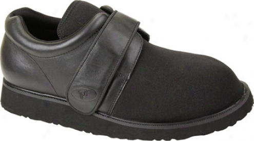 Ped Rx By Propet Pedwalker 3 (women's) - Black Smooth/nyoln