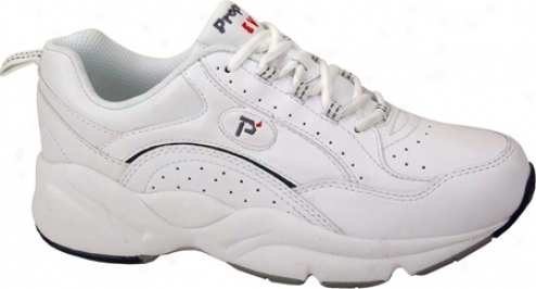 Ped Rx Through  Propet Pedwalker 8 (womn's) - White/blue