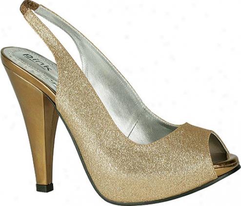 Pink Paradox London Carrie (women's) - Bronze Metallic Glitter
