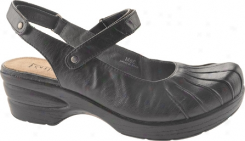 Portlamdia Seattle (women's) - Black Leather