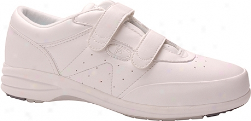 Propet Easy Walker (women'e) - White Smooth