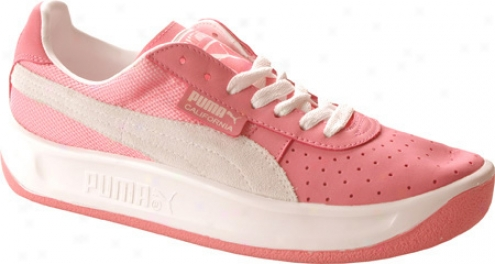 Puma California (women's) - Pink Lemonade/white
