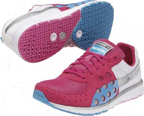 Puma Faas 300 (women's) - Very Berry/white/fluo Blue