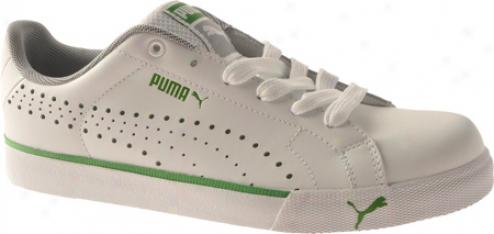 Puma Game Point (women')s - White/poison Green