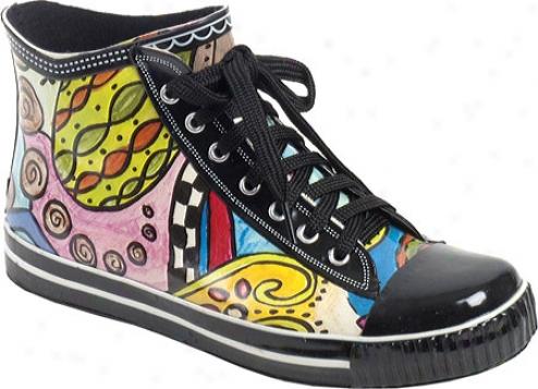 Rainbops High Top Style Rain Boot (women's) - Sidewinder