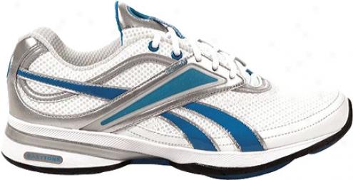Reebok Easytone Reeinspire (womem'ss) - White/electro Blue/silver/blafk