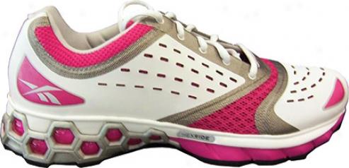 Reebok Hexrjde Sf Optimize (women's) - White/silver/condensed Pink/black