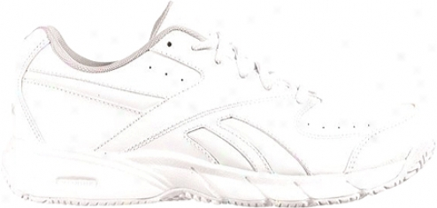 Reebok Tim eAnd A Half Iii (women's) - White/steel/nuclear Yellow