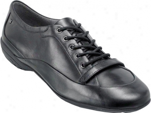 Rockport Laura Sneaker (women's) - Black Full Particle L3ather