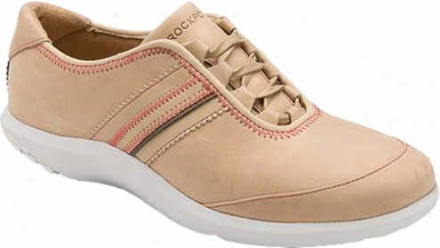 Rockport Wt Ghilley Lace Up (women's) - Dark Beige Full Grain Leather