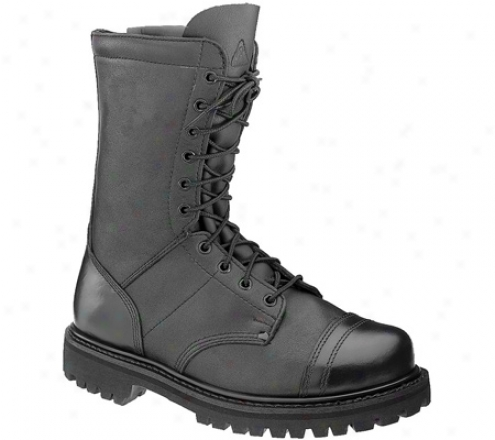 """Hard 10"""" Zipper Paraboot 4090 (womeh's) - Black Leather"""