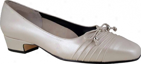 Ros Hommesron Cathy (women's) - Silver Press Kidskin