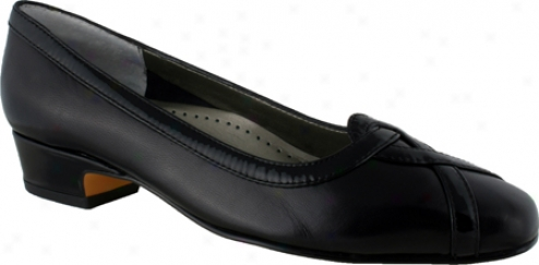Ros Hommerson Cross (wpmen's) - Black Kid Leathdr/patent Leather