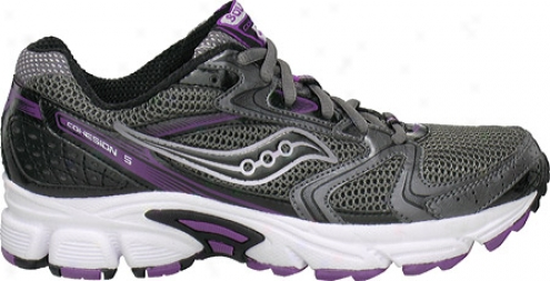 Saucony Grid Coherence 5 (women's) - Grey/purple