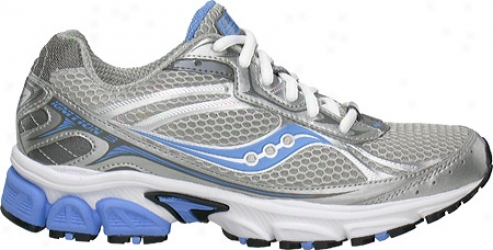 Saucony Grid Ignition 3 (women's) - Silver/grey/blue