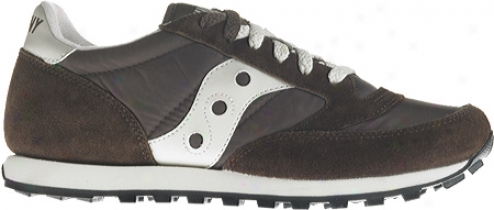Saucony Jazz Lowpro (women's) - Brown/tan