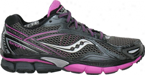 Saucony Powergrid Violent gale 14( women's) - Black/purple