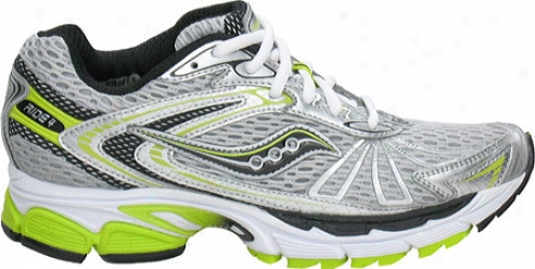 Saucony Progrid Ride 4 (women's) - Silver/black/green